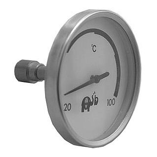 Thermometer Euro d=80,L=50mm
