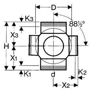 valsir Eck-Abzweig 135°red.PE 110/56mm
