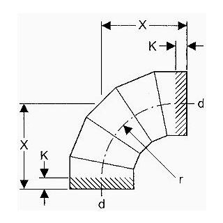 valsir Segmentbogen 90° PE 200mm