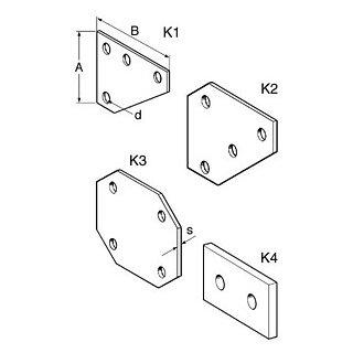 Sikla Knotenblech K2