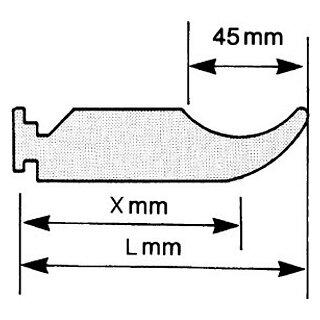 Träger für Radiatoren 70-45-97