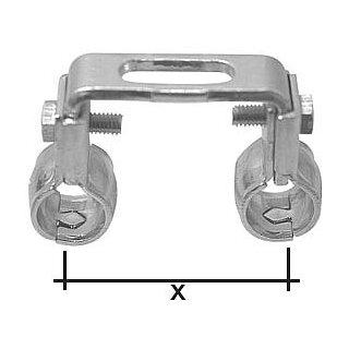 "SK Doppelrohrschelle 220 3/8"" 50mm"