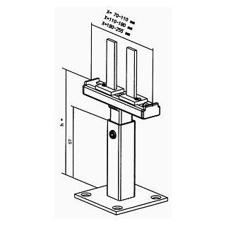 SK-Bodenständer 150/N.65/70-110