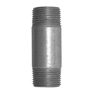 """Rohrnippel schwarz 5/4""""-40mm"""