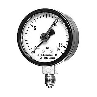 "JRG Manometer Anschluss unten 1/4""/8108"