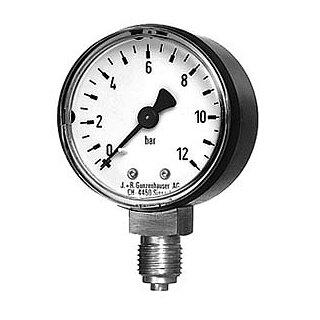 "JRG Manometer 1/4""-0 / 8107 0-12 bar"