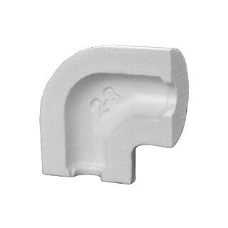 Elri PIR-Bogen 90° PVC 89/30W 67/40 mm S
