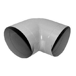 Elri PVC PVC-Bogen 90° hellgrau 114-40 SB