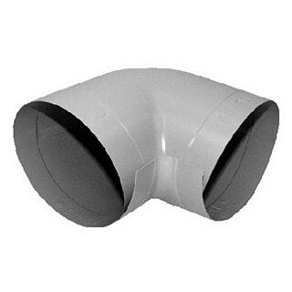 Elri PVC PVC-Bogen 90° hellgrau 114-60 SB