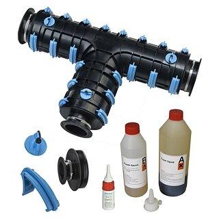 Brugg-Rohrsystem CALPEX Schale CPX-T 111-111-111 mm