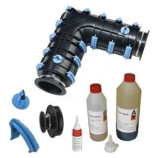 Brugg-Rohrsystem CALPEX SET Calpex Schale CPX-L 91-91 mm