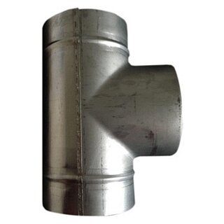 BMK Abzweiger 90° mit Sattel zentriert 250-100 mm