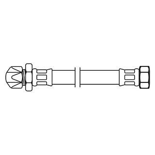 Neoperl FLEXO Anschlussschlauch IG x Quetschverschr. 3/8 X 10MM H3 25 cm