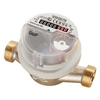 GWF Warmwasserzähler qp2,5, 110 mm AP